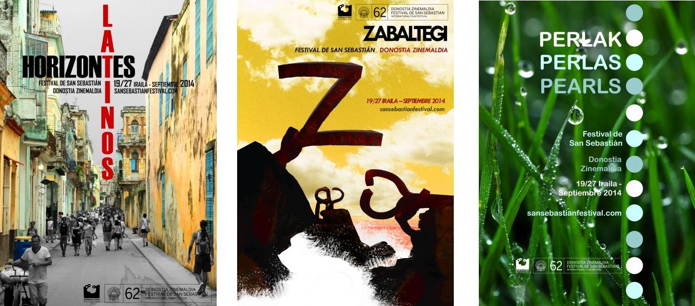 votación carteles festival de cine